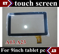Wholesale DHL X Replacement inch original Touch Screen with Glass Digitizer for inch Allwinner A13 A23 Tablet PC TC7