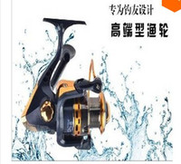 Freshwater   8BB Ball Bearings Left Right Hand Interchangeable Collapsible Handle Fishing Spinning Reel HOT SALE FREE SHIPPING