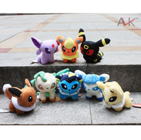 Wholesale Christmas Gift Pokemon Plush Toys quot Umbreon Eevee Espeon Jolteon Vaporeon Flareon Glaceon Leafeon Animals Soft Stuffed Dolls