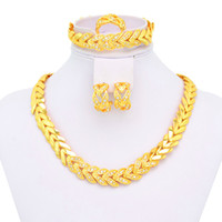 Wholesale 18K Fsahion Jewelry Set Vners Wedding jewelry A005