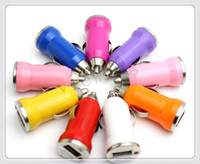 USB   Mini usb Car charger for iphone 4 4s 5 5s 5c sumsung htc DHL FEDEX Free shipping