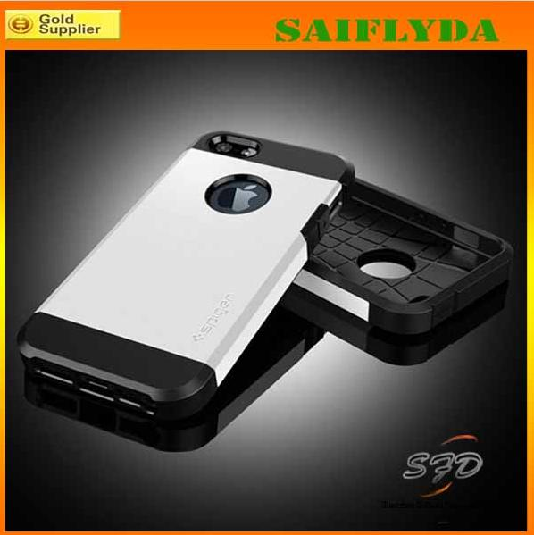 Buy HOT Leather Back Cover iPhone 4 4s 5 5s 5c Flip Case Slim SGP Tough Armor hard case Samsung s5 Hard