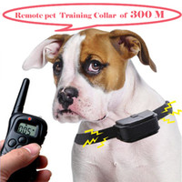 Wholesale Lefdy New meters Remote Pet Training Collar no bark collar with LCD display for large dog product