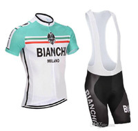 Wholesale 2014 bianchi cycling bike wear bike jacket and padded bicycle shorts outdoor mountain clothing