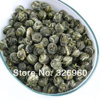 al por mayor regalo superior de porcelana-Promoción 2016 Salud Té de jazmín de flores Té Premium de jazmín Té Guelder de 100 g de té verde Té chino + REGALO