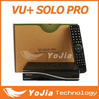 Receivers DVB-S  1pc VU+ Solo Pro HD DVB-S2 Satellite Receiver Enigma 2 Mini VU+ Solo Youtube IPTV channels fedex free shipping