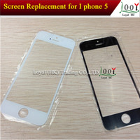 For Apple iPhone 5S 5 Touch Screen With original logo For iPhone 5 5S 5C Front Outer Lens Glass Screen Replacement For Apple iphone 5 5S 5G Touch Screen Replacement DHL Fedex Free Shipping