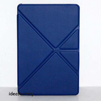 Wholesale 30pcs DHL Smart case Leather case with stand for kindle fire HD HDX many colors