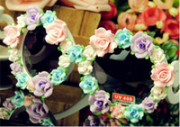 Beach ceramic flowers - Type White Beach rose soft handmade ceramic flower sunglasses Celebrity Sunglasses