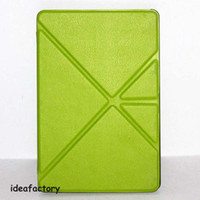 Folding Folio Case kindle fire hd - 100 Leather case for kindle fire HD HDX many colors Origami Case