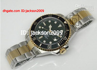 Men's best dive watch - Hot Selling BEST QUALITY Luxury Mens Tone Gold Perpetual Black Dial Watch Automatic Men Dive Sport Watches
