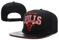 Wholesale Bulls Snapback Hats Black Mitchell and Ness Snapback Hat Basketabll Hats Snapback Hiphop Women Hats Letter Brim Team Caps Hot Sale Hats