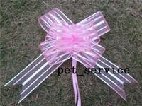 Cheap pull bow pull bow Best organza 5cm wedding bows