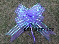 pull bow organza 5cm 20Pieces lot,5cm Purple Organza Pull Bow Wedding Car Decoration Pull Bows Ribbons Wedding Bridal Xmas Decor Supplies,Upick 9colors