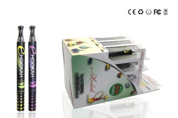 2015 cigarettes électroniques jetables Ehookah Portable E Shisha Pen 800 bouffées Métal Tip 10 Flavor E Cig DHL gratuites