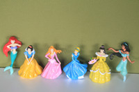 Wholesale NEW Princess Collection Figure NEW PVC figure Princess PVC figures doll toys