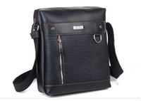 Wholesale 5pcs New Arrival Hot Sale Fashion Men PU Leather Messenger Bag High Quality Man Brand Business Bag L635