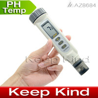 Wholesale Good Quality AZ8684 Digital Water ph meter Pen Type ph tester Meter aquarium PH Pen