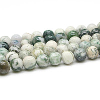 Wholesale 4mm mm mm mm mm new arrivals fashion Nutural gemstone bead Agate tree gemstone beads for jewelry making GB012