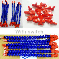 Wholesale 12pcs set Lathe CNC Machine Flexible Plastic Water Oil Coolant Pipe Hose With Tap