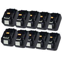 Wholesale 10 x NEW Makita V Ah volt Lithium battery Makita BL1830 Tool battery Hot Sale