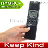 Wholesale NEW AZ8703 DIGITAL thermometer hygrometer humidity gauge Thermometer hygrometer Dew Point