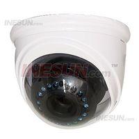Cheap 1 3 inch High Sensitivity CCD, 600TVL Resolution, 0.01Lux Mini illumination, 4-9mm Lens, 20m IR distance, DC12V Power supply