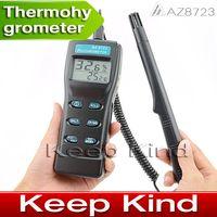 Wholesale AZ8723 Digital Thermometer Hygrometer Digital temperature humidity meter Digital Psychrometer
