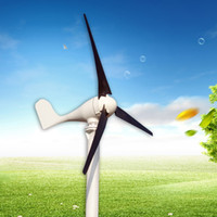Wholesale 200W wind turbine generator v v wind generator blades years lifetime