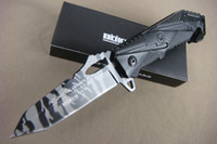 Bolsillo envío Boker X17 cuchillos de caza al aire libre de supervivencia plegable mango de aluminio hoja táctico Liner bloquear el envío libre