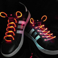 Family Shoelaces Red LED Flashing Shoelace Colorful Fashion Led Shoelace Laser Shoelaces LED Flash Light Up Glow Shoelaces Shoe Laces DISCO Party Skating