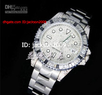 Sport best diamond prices - Hot Selling Lowest Price BEST QUALITY Luxury Men s Watch Pave Diamond Bezel Men Dive Gorgeous Automatic Stainless Steel Bracelet Men Watches