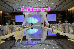 Wholesale Romantic Wedding Decoration Mirror Wedding Carpet M wide mirror carpet Wedding Carpet Runner M Fast shipping