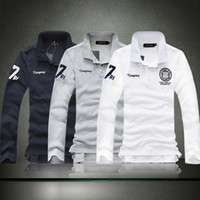 Men Cotton Polo 2014 New For Man To Choice Men's Casual POLO Shirt Men's Long Sleeve Embroidery Polo tshirt Plus Size:S,M,L,XL,XXL,3XL,4XL,5XL