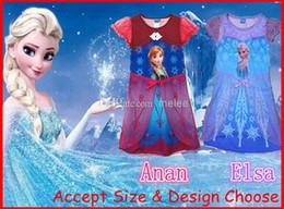 Wholesale Retail FROZEN Anna Sofia girl girls short sleeve lace dresses lace dress kids princess tutu dresses top quality accept size choose free