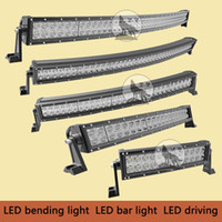 auto road - inch W x4 Cree Led Car Light Curved Led Light bar Off road auto led light arch bent V DC Spot beam led