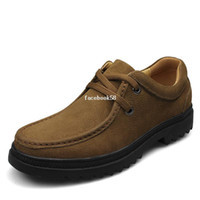 Wholesale Handcrafted genuine leather shoelace men boot brand men safety casual shoes work boots