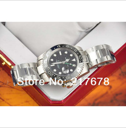 DHL Free shipping Super Top quality Sapphire Ceramic Square 2 Black 116710 16710 automatic Mens Watch Watches