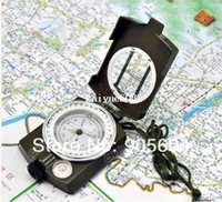 Wholesale Multifunctional Lens Digital Geological American Compass Marine Outdoor Marching Camping Military Sports Navigator Equipment