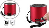 Wholesale Portable Mini MP3 Player Music Sound Box Digital Speaker speakers LED USB Micro SD TF Card Slot FM Radio Z Angel Kaidaer KD MN01R style