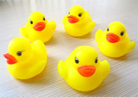 Beach Toys Animals 12-24M 2014 hot sales Baby Bath Water Toy Rubber Ducks toys Sounds Yellow Duck Kids Bathe Children Swiming Beach Gifts