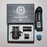 Cheap Hammer Mod E Pipe Mod E-Pipe Mechanical Mod E Cig Kit Fit For 18350 18650 Battery CE4 CE5 Vivi Nova U-DCT Atomizer Epipe Mod E Cigarette