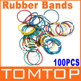 Wholesale 10sets Colorful Elastic Rubber Bands for Tattoo Machine H8775 Dropshipping