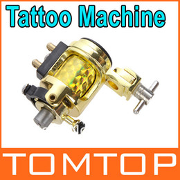 Wholesale Professional Silent Golden Motor Rotary Tattoo Clip Cord Gun Machine Dropshipping