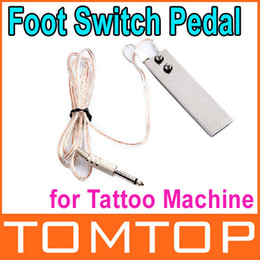 Wholesale 3 Mini Stainless Foot Switch Pedal for Tattoo Machine Gun Power Supply Dropshipping
