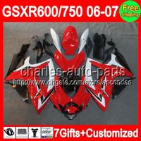 7gifts+ Seat cowl For SUZUKI GSXR 600 750 06- 07 GSXR600 GSXR7...