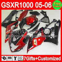 7gifts+ Seat cowl For SUZUKI GSXR1000 K5 05- 06 GSXR 1000 Dark...