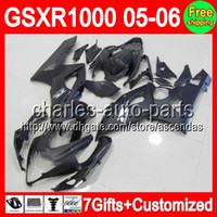 7gifts+ Seat cowl For SUZUKI GSXR1000 K5 05- 06 ALL Flat black...