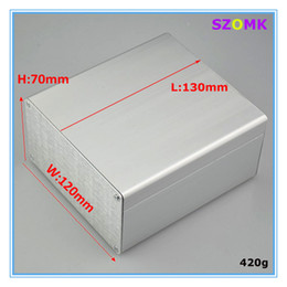 Wholesale New cabinet aluminum powder coating enlosure box case pieces a mm inch