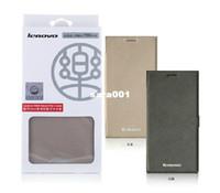 Cheap Free Shipping 100% Original Lenovo K900 Leather Case In Stock Lenovo K900 Case Protective Case Gift Screen Protector